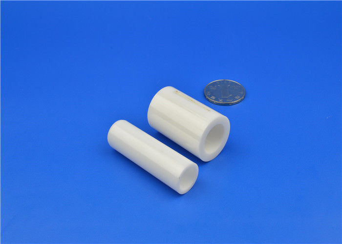 High Precision Yttria Stabilized Zirconia  Tube / Bushing / Sleeve / Insulator